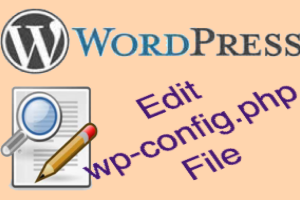Edit WP Config PHP File in WordPress