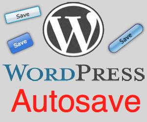 WordPress Autosave