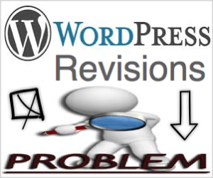WordPress Revisions Issues