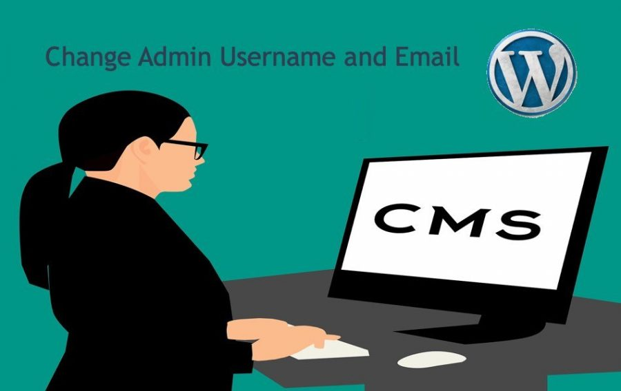 Change Admin Username and Email in WordPress