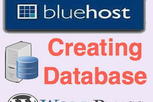 Creating Database in Bluehost