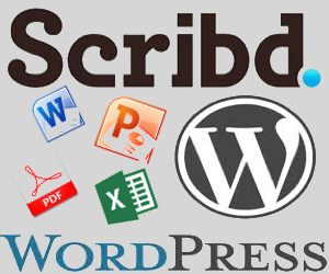 Embed Scribd Document in WordPress