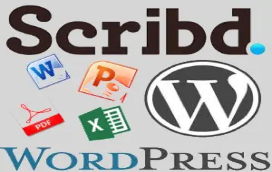 Embed Scribd Documents in WordPress