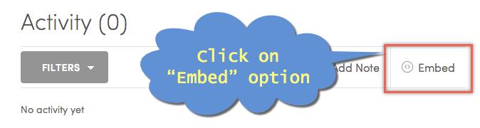 Embedding Option for Scribd Document