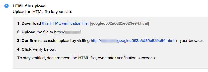 HTML File Upload Verification Method
