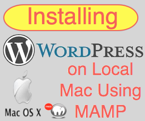 Install WordPress on Local Mac Using MAMP