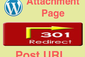 Redirect Attachment Page to Post URL