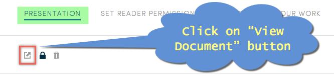 Viewing Scribd Document