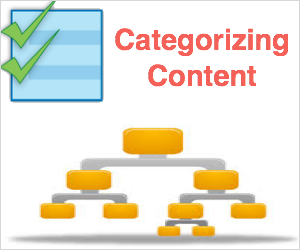 Categorizing Content