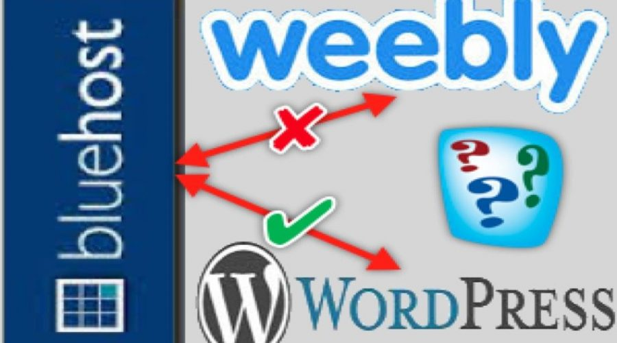 Delete Weebly in Bluehost and Revert WordPress