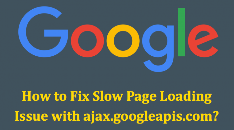 Fix Slow Page Loading Waiting for ajax.googleapis.com