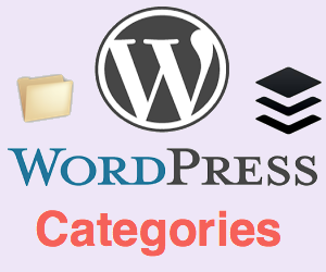 Creating and Managing Categories in WordPress
