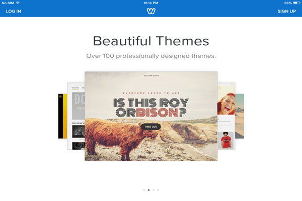 Weebly Beautiful Themes
