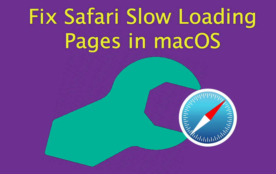 web pages loading slow on mac