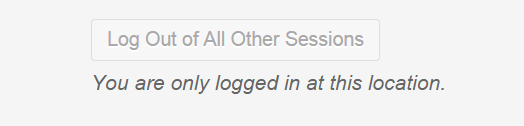 Logout Other Sessions