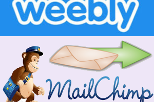 Mailchimp Integration in Weebly