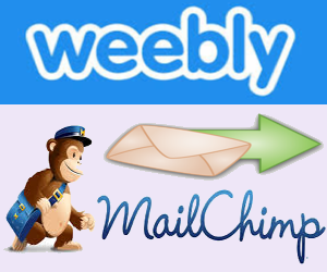 Mailchimp Newsletter Subscription for Weebly