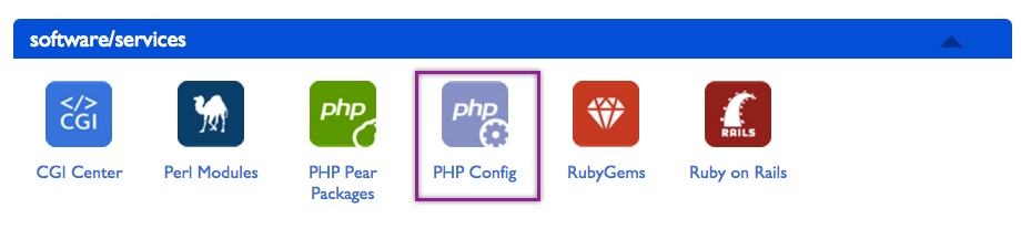 Creating php.ini File in Bluehost using PHP Config