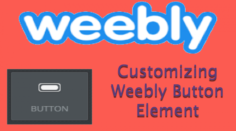 How to Add and Customize Buttons in Weebly Site?
