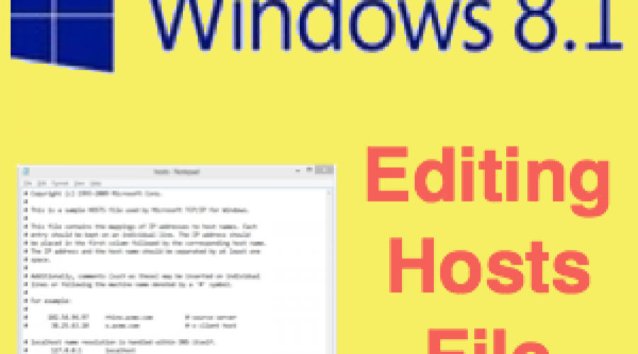 How to Edit Hosts File in Windows 7, 8 and 10?