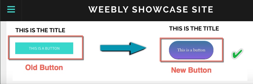 New CSS Button in Weebly