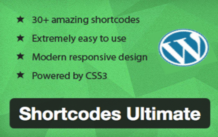 Review of Shortcodes Ultimate WordPress Plugin