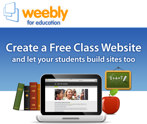 Using Weebly Education Version for Teachers and Students