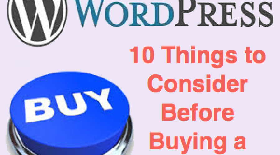 10 Things to Consider Before Buying a WordPress Theme