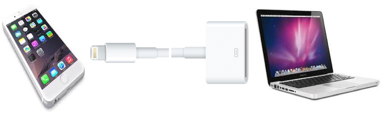 Connect Device to Mac