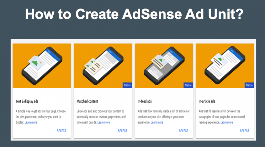 How to Create an AdSense Ad Unit?