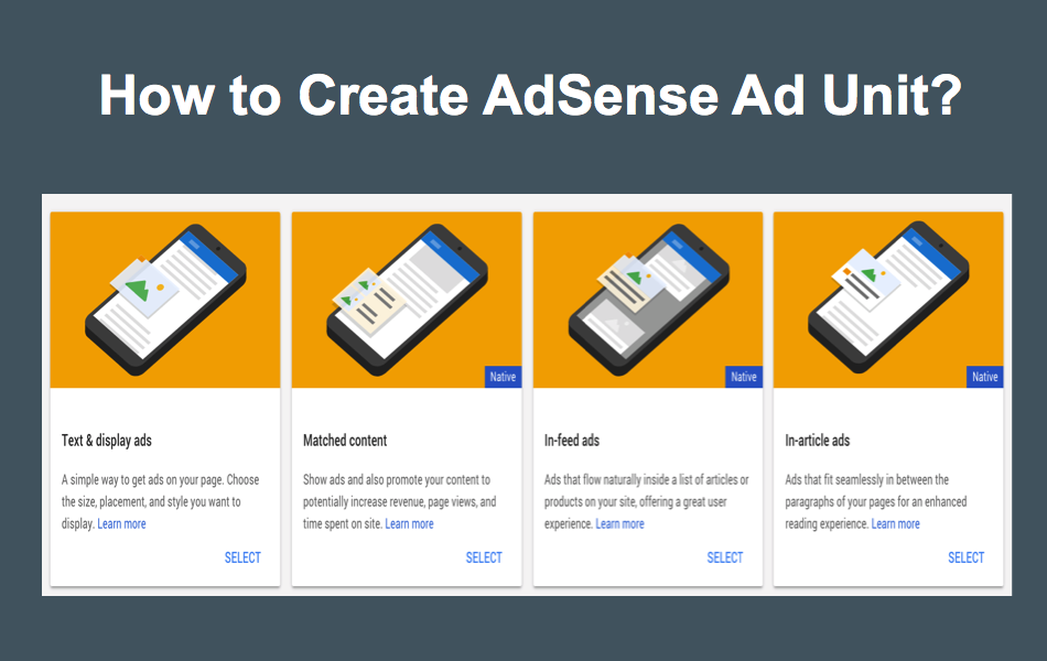 How to Create an AdSense Ad Unit?