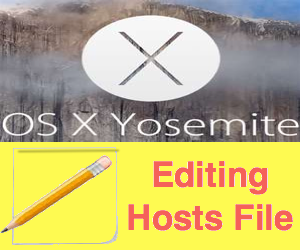 How to Edit Hosts File in Mac OS X?