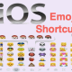 How to Add Shortcuts for Emojis in iOS Keyboard?
