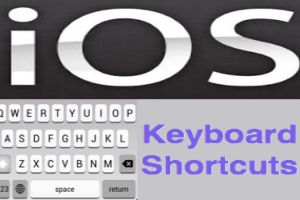 iOS Keyboard Shortcuts for iPhone and iPad