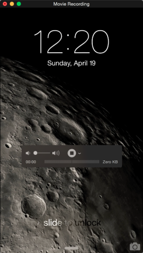 iPhone Screen Recording in Mac