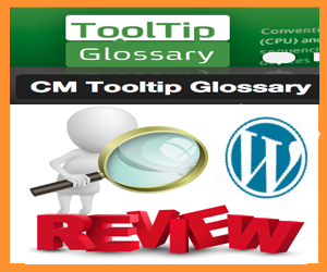 CM Tooltips Glossary WordPress Plugin Review