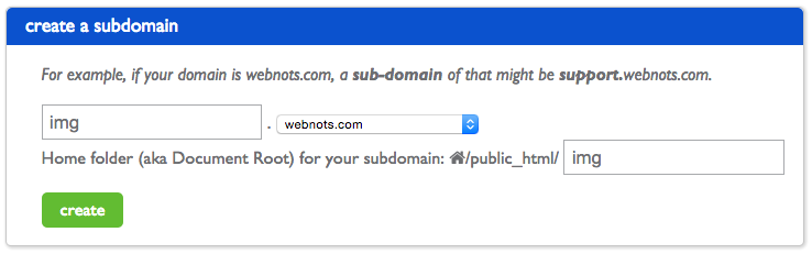 Creating Subdomain in Bluehost