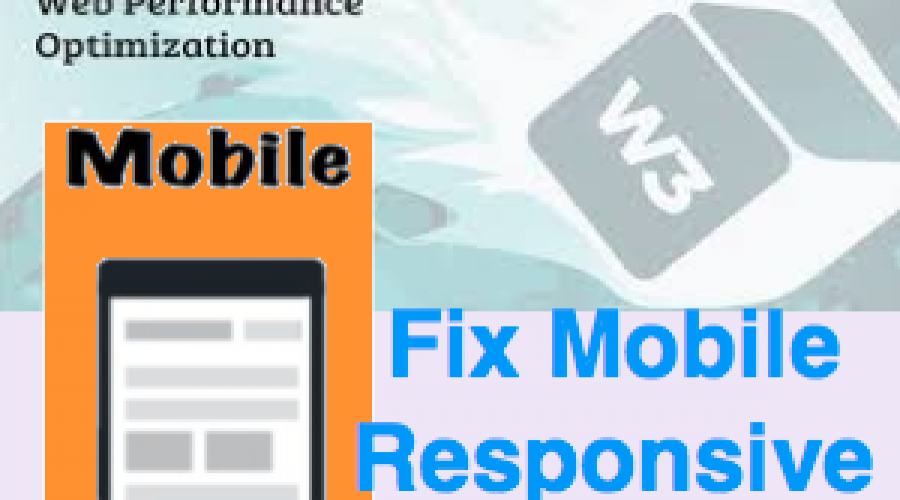 Fix Mobile Responsiveness Issue with W3 Total Cache Plugin