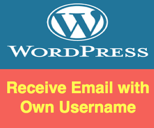 Fix Receiving Emails from WordPress User With Your Own Username