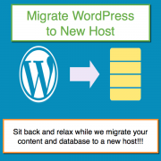 Migrate WordPress Site to New Host