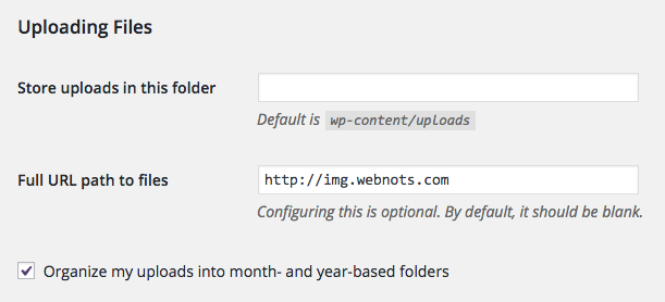 How to Move WordPress Media Folder to Subdomain? » WebNots