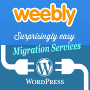 Weebly to WordPress Migration Service