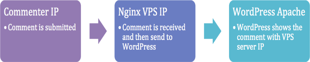 WordPress Showing Server IP in Comments