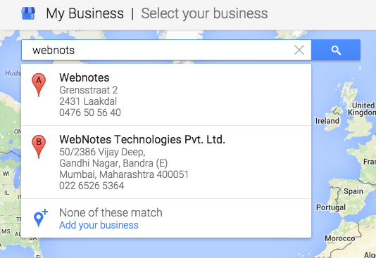 Search Your Business