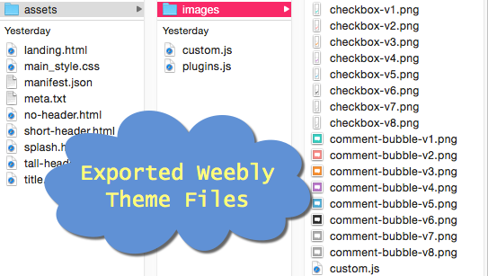 Exported Weebly Theme Files