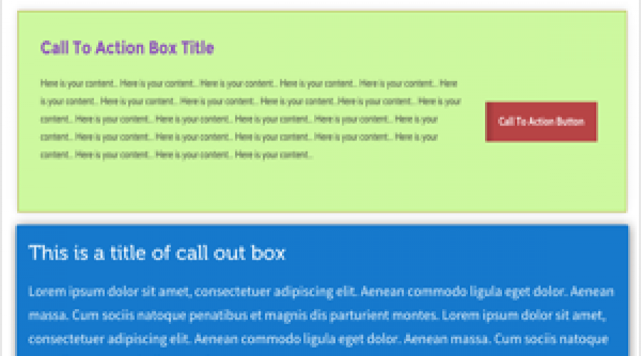 Add Call To Action Button in Weebly