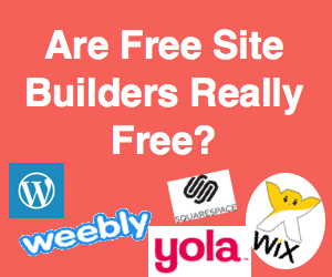 Are Free Website Builders Really Free and Worth?