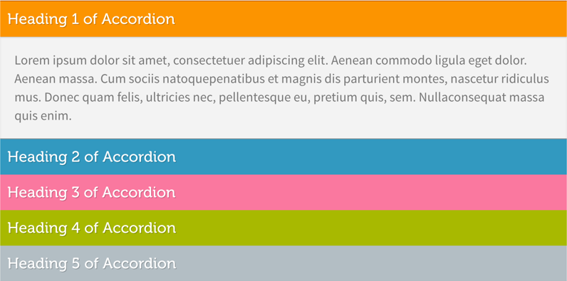 jQuery Accordion Content Toggle