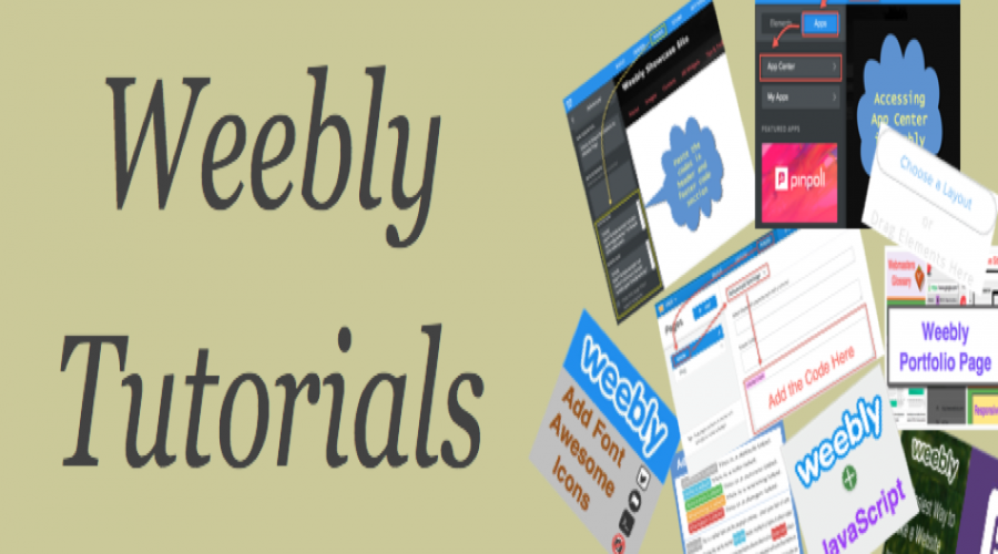 Free Weebly Tutorials