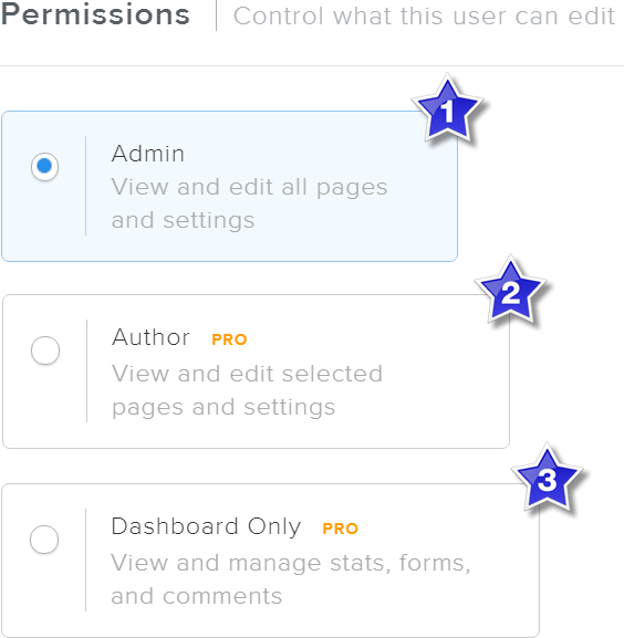 Weebly Editor Permission Settings